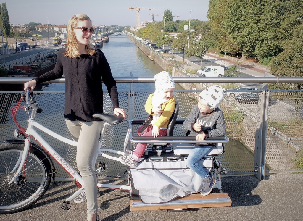 vrachtfiets / bakfiets: Longtail cargo bike from xtracycle