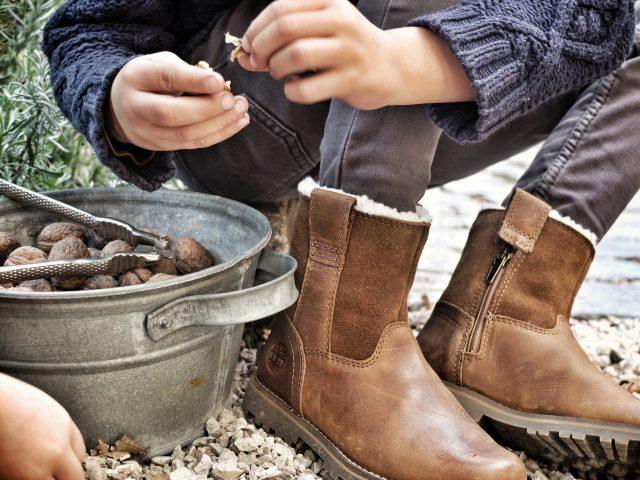 Timberland bruine winterschoenen voor kinderen