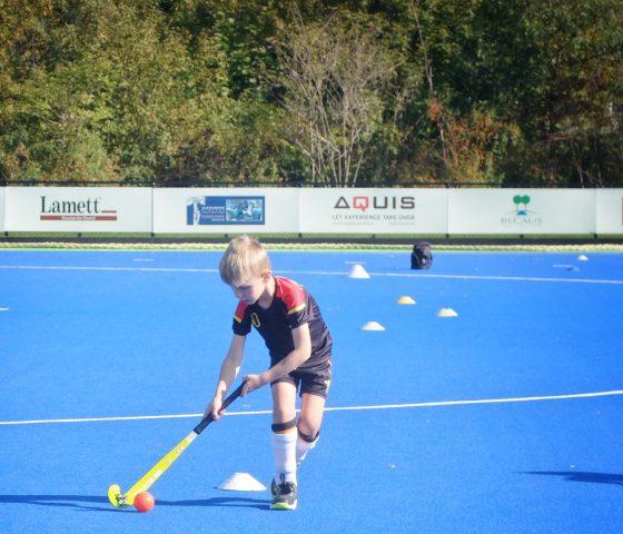 veld hockey voor kinderen