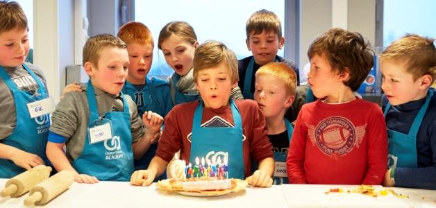 verjaardagsfeestje workshop colruyt academy