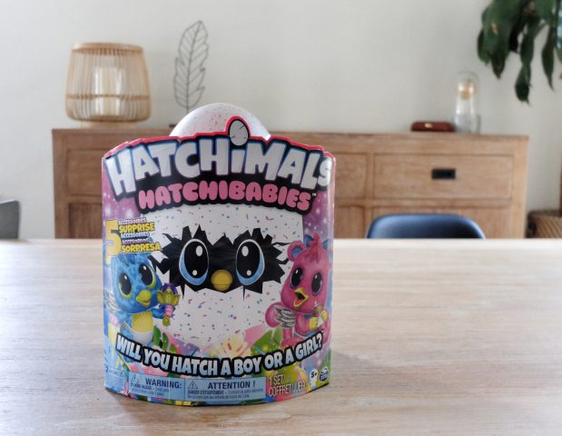 Hatchimals batchibabies verpakking