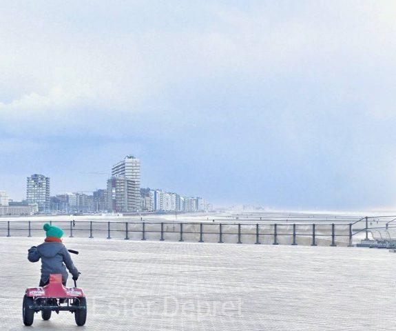 kindvriendelijk Oostende in de winter