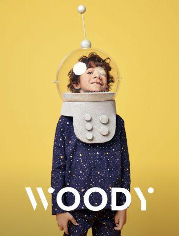 Woody nieuw logo, Belgische pyjama