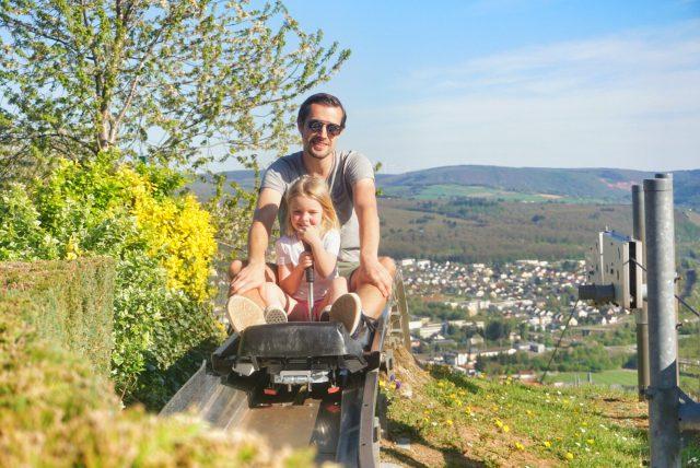 to do met kinderen in Saarburg: Rodelbaan, Warsberg