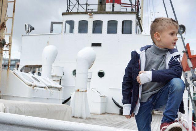 Bezoek Seafront West-Hinder Zeebrugge met kinderen