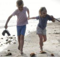 Ile de ré met kinderen - strand
