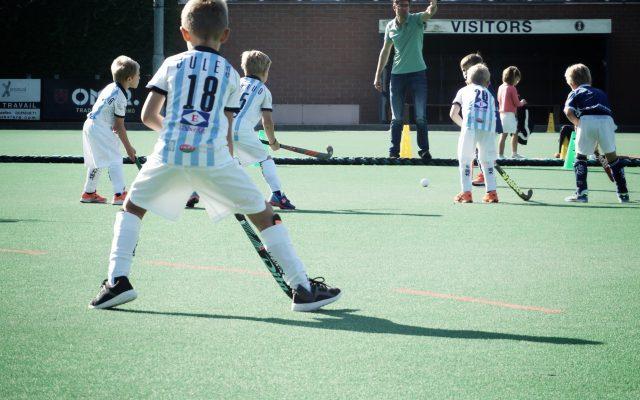 gantoise hockey jeugdwedstrijd