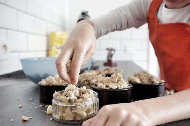 recept appelcrumble kinderen