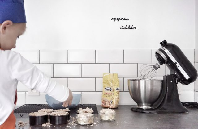 koken met kinderen: appelcrumble