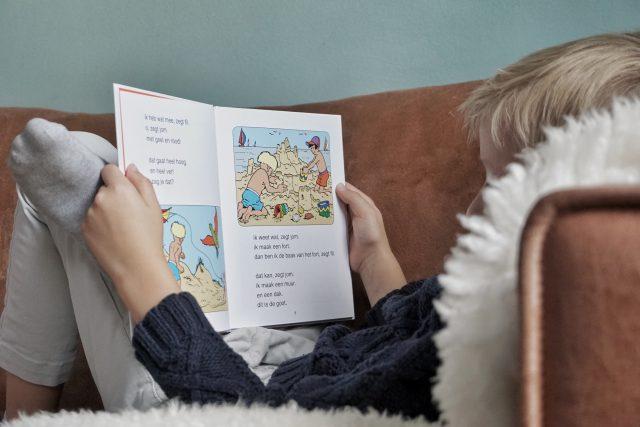 leren lezen jommeke boek