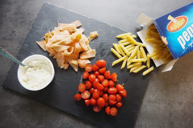 koken met restjes: pasta!
