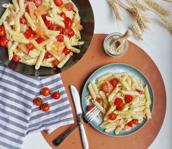 simpel pastarecept met restjes