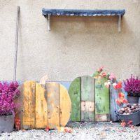 DIY houten pompoen maken