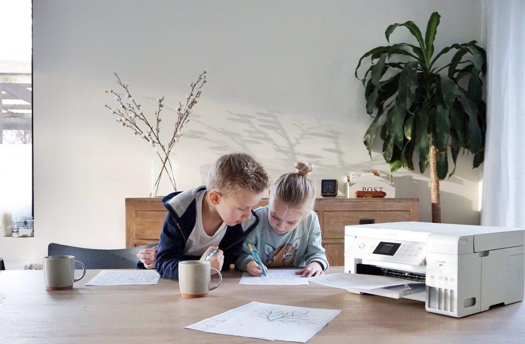 werkblaadjes / oefenblaadjes afdrukken voor thuis