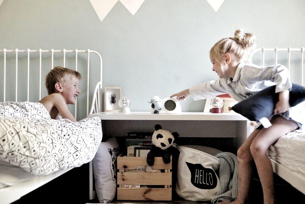 ervaring schaap slaaptrainer Sam, review als kinderwekker