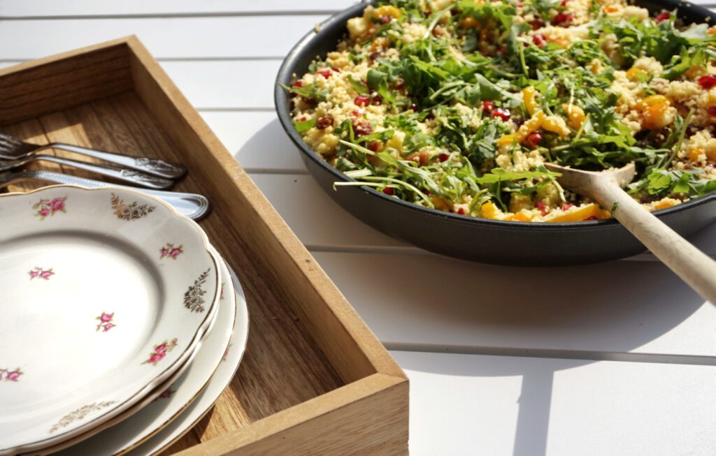 recept simpele couscoussalade met restjes