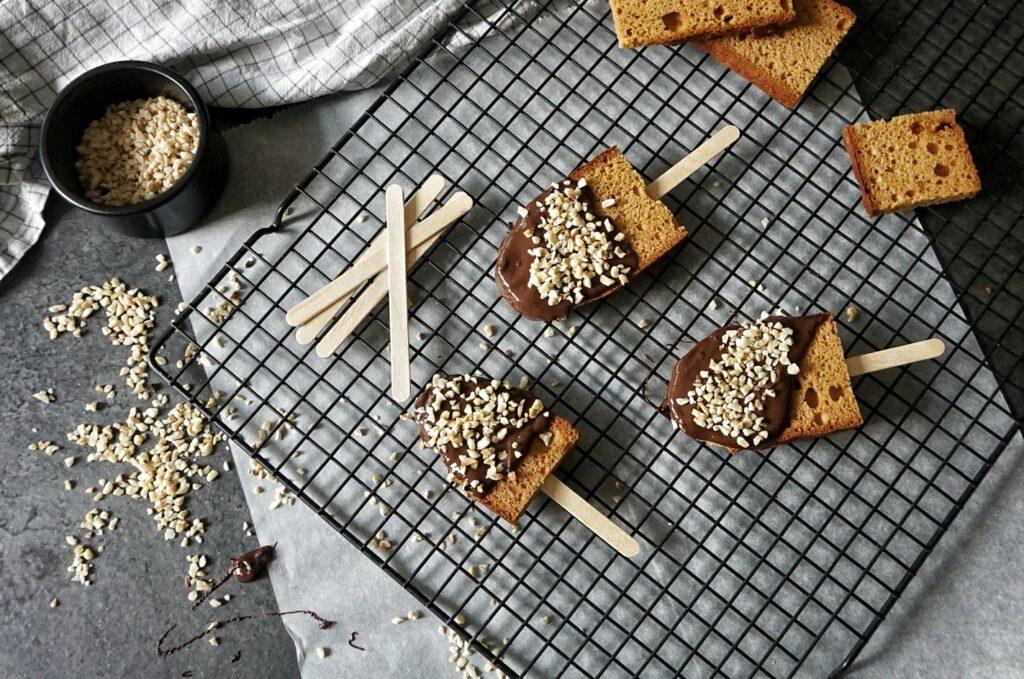 recept peperkoek met chocolade en nootjes