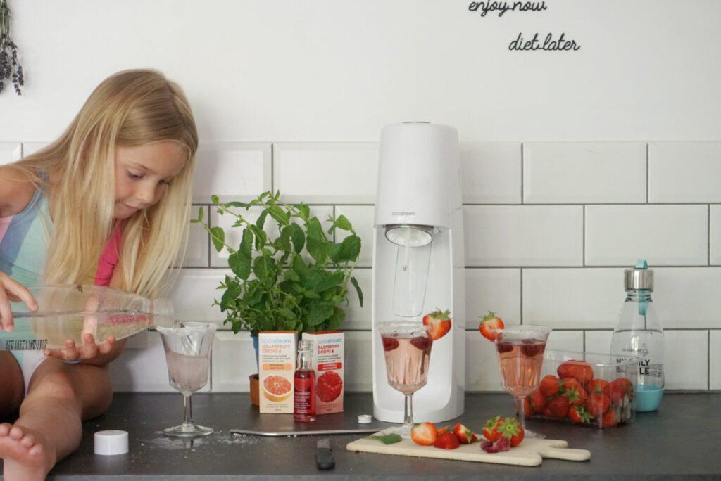 Sodastream recept limonade voor kinderen