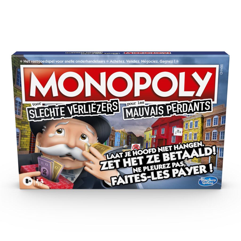 tip cadeaus sinterklaas: monopoly slechte verliezers